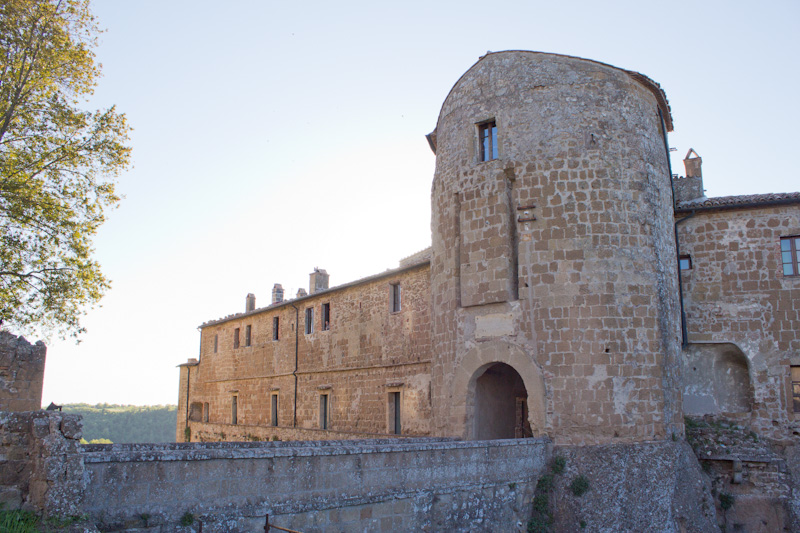 The fortress at the city center has been built and rebuilt many times throughout its history.