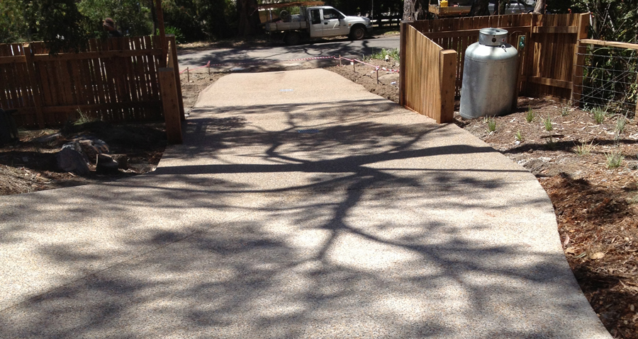 EXTENDED DRIVEWAYS