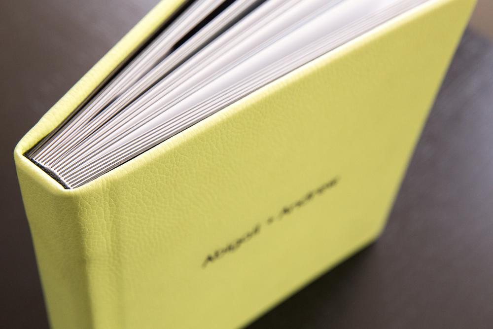 8x8 - 30 Page Leatherette Album - Color Kiwi