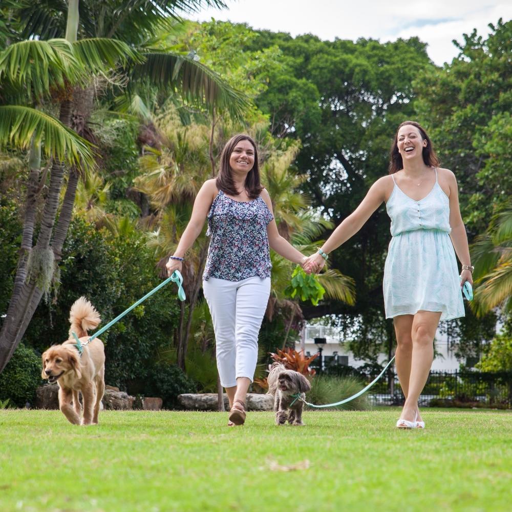Nicole & Jill | Botanical Gardens Miami Beach