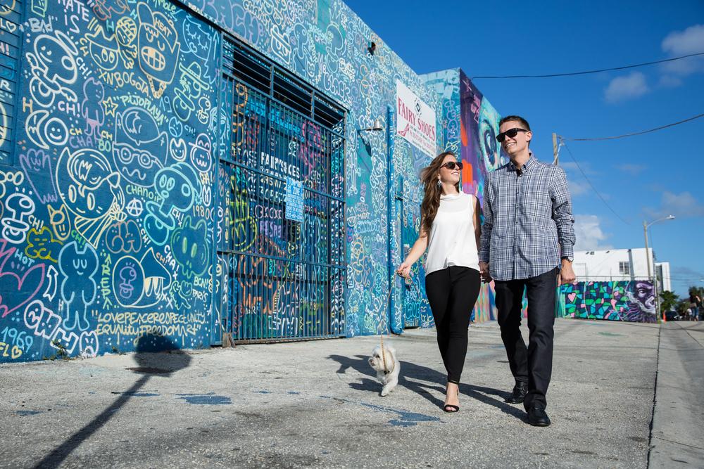 Alison & Benjamin | Wynwood Walls, FL