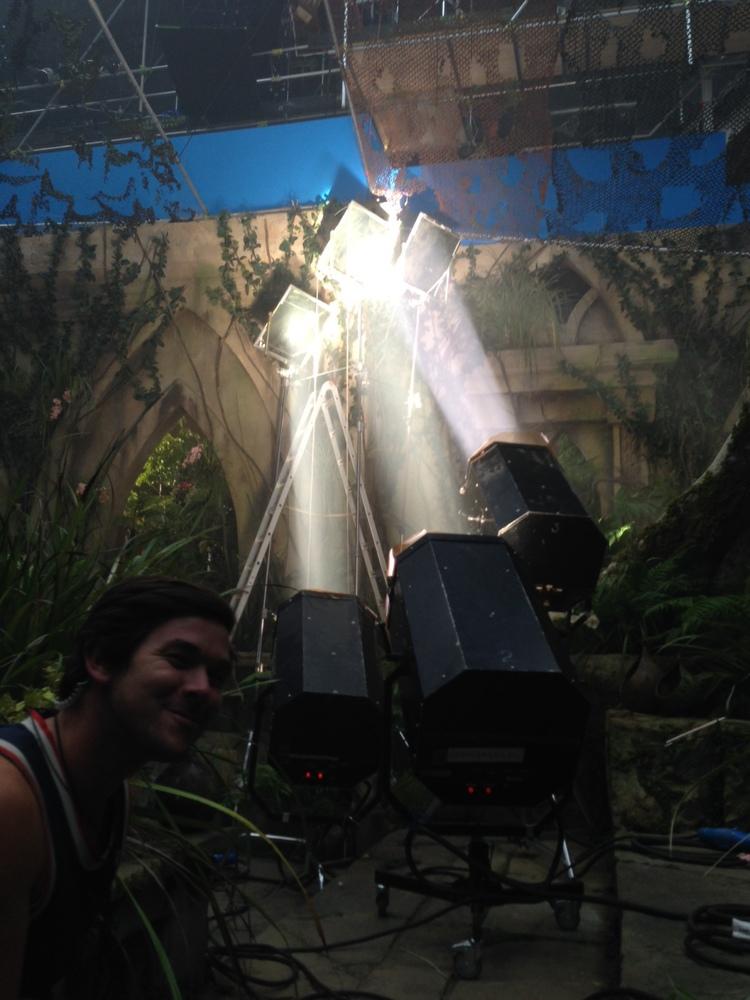 Xenon Beam Projection Light
