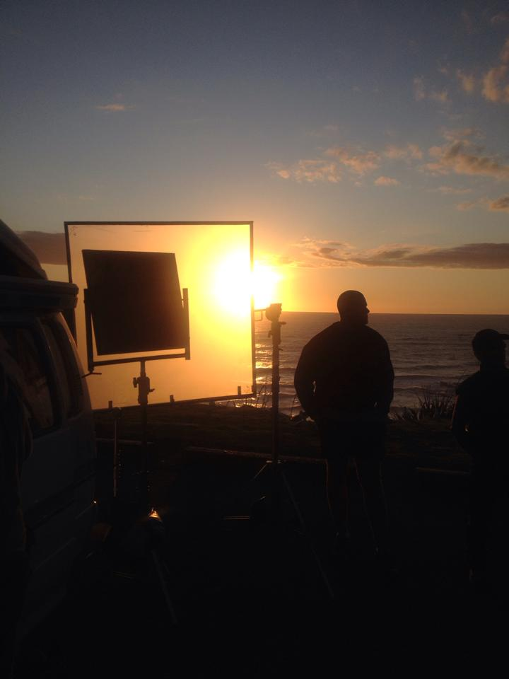 Sunset on Location