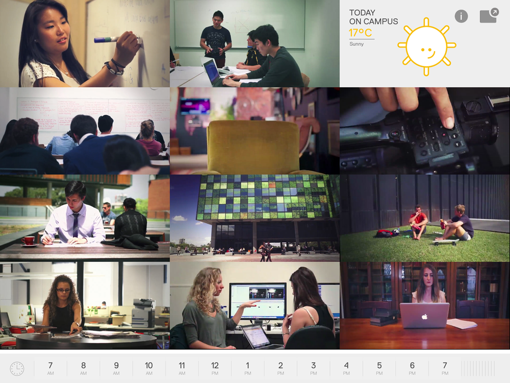 Stories Explore the stories of Sydney Uni students by time of day.