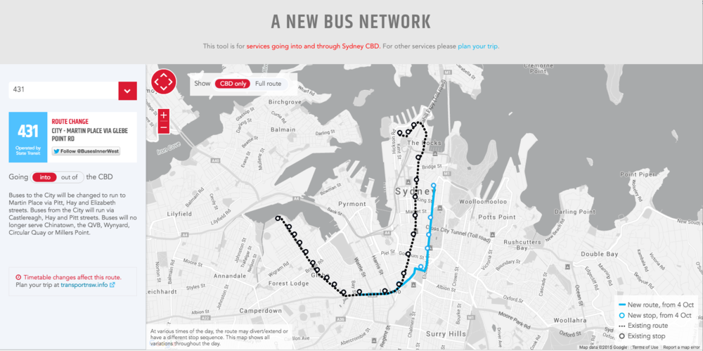 Bus Route Finder