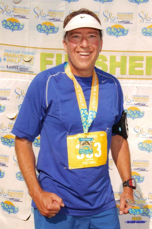 Owner Chris Skiff is an 11x marathon finisher