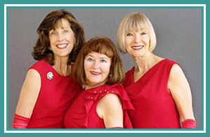- In Time Trio delights with an evening of entertainment and fun memories of big-time hits.  Their tight harmonies and sassy moves bring to life some of America's best-loved songs from the Andrews Sisters to the Pointer Sisters, including big band, Rat Pack, Motown, Disco and more!Call (805) 541-4222 or sign up below to reserve your spot. Seating is still available!
