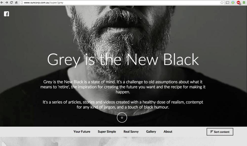 Suncorpu0027s Grey Is The New Black