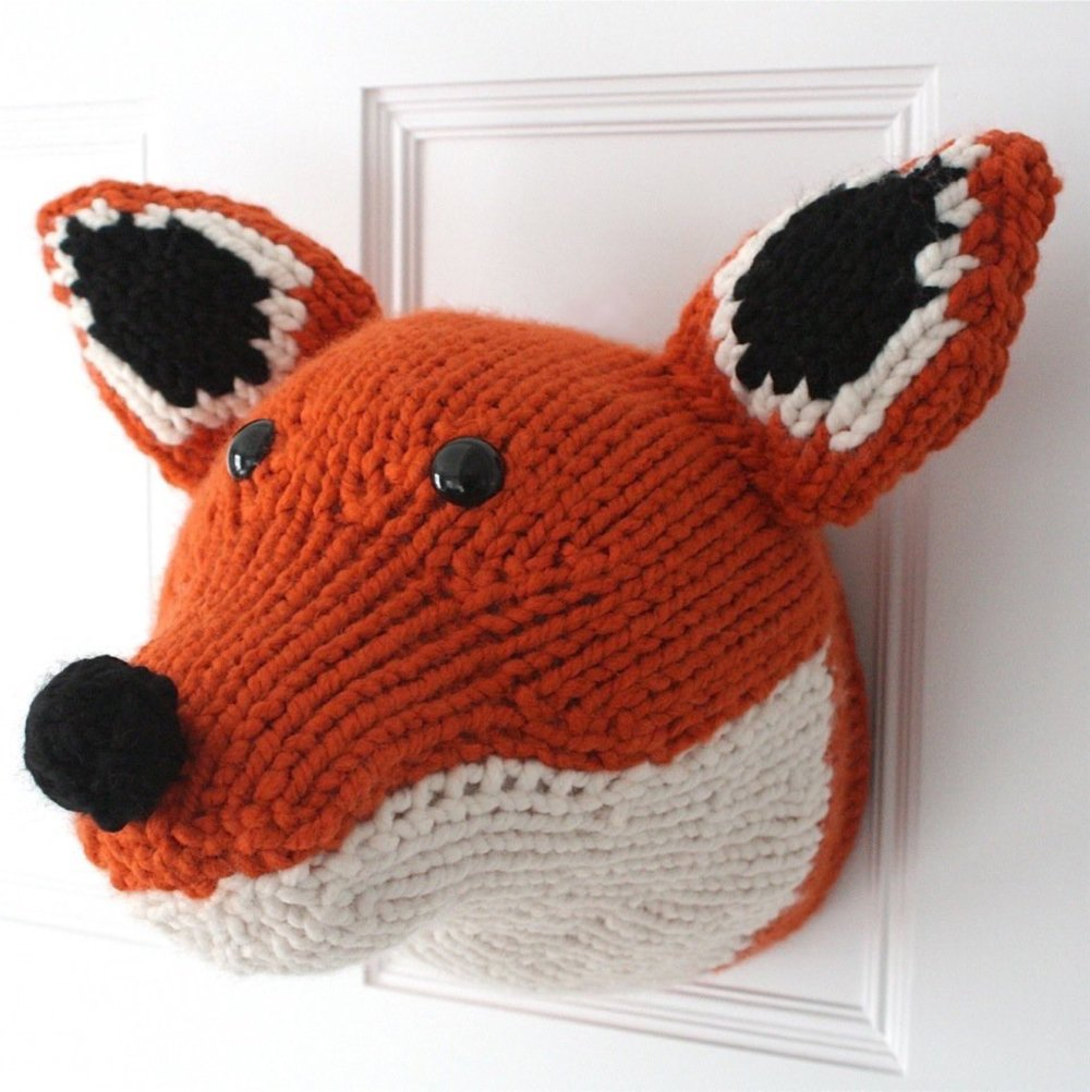 fox head by emma pavier