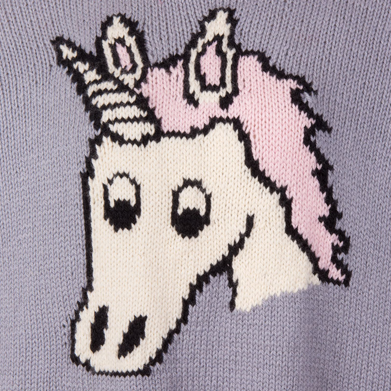 Unicorn Jumper Knitting Pattern : Spooky unicorn comfy jumper kit — sincerely louise