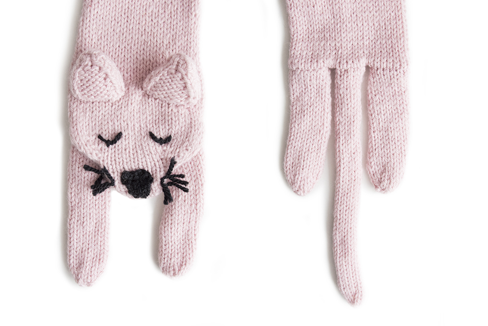 Cat Scarf Knitting Kit — Sincerely Louise