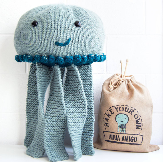 Giant Jellyfish Knitting Kit Sincerely Louise