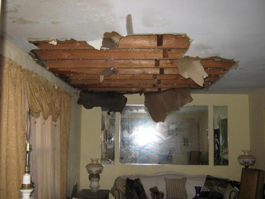 water damage marietta