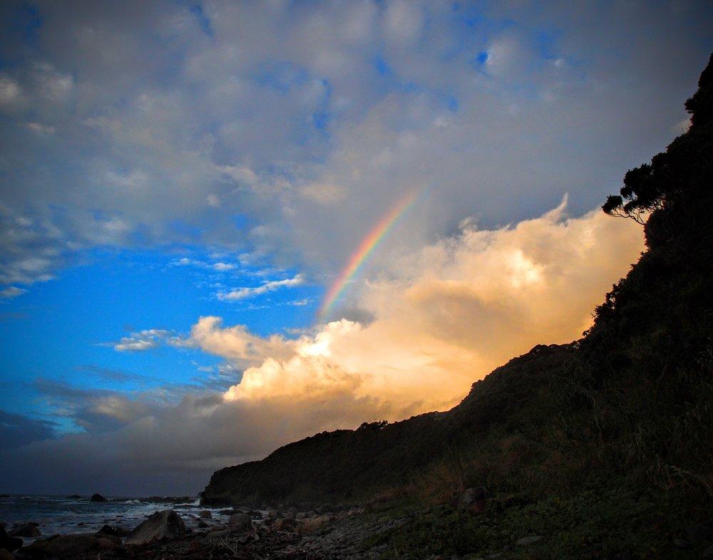 僕に初めて涙を流させた虹のギフト。