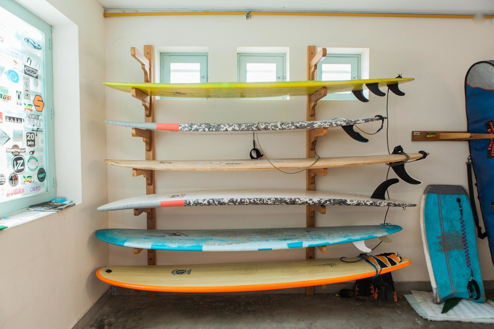 Chicama has surf boards for rent for a pretty hefty $30/day fee. Maybe we're just too spoiled by Indonesian prices...