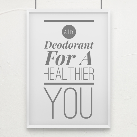 It's easy peasy to make your own deodorant.