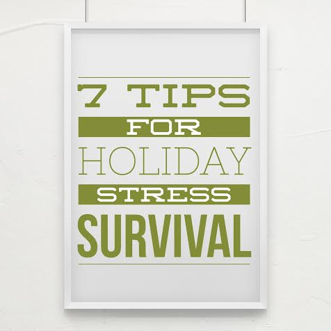 Get a jump start on managing your holiday stress. Hop on over to www.meetwithtisa.com and get the scoop on these 7 tips.