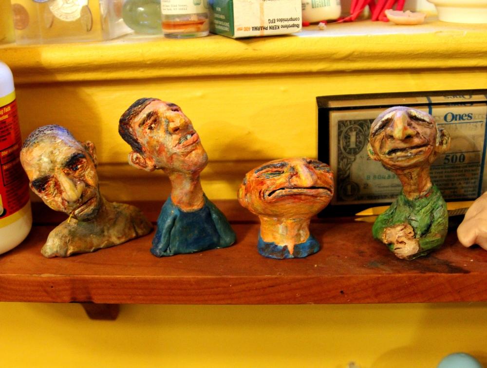 Sculpey men