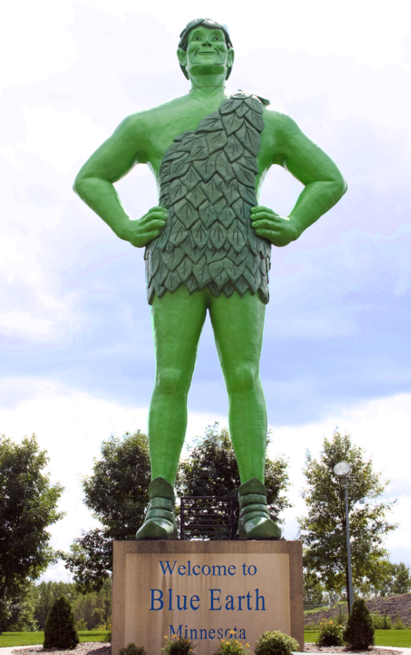 Jolly Green Giant - Blue Earth, MN