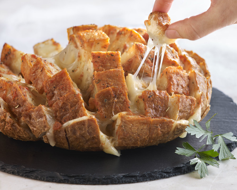 Provolone Extra Pull Apart Bread