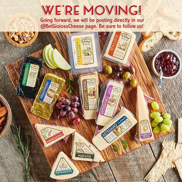 We've enjoyed being welcomed into your kitchen to help elevate your cheeseboards. Join us in our new social home, @belgioiosocheese where we'll still share cheeseboard tips & tricks! #SavorLaBottega