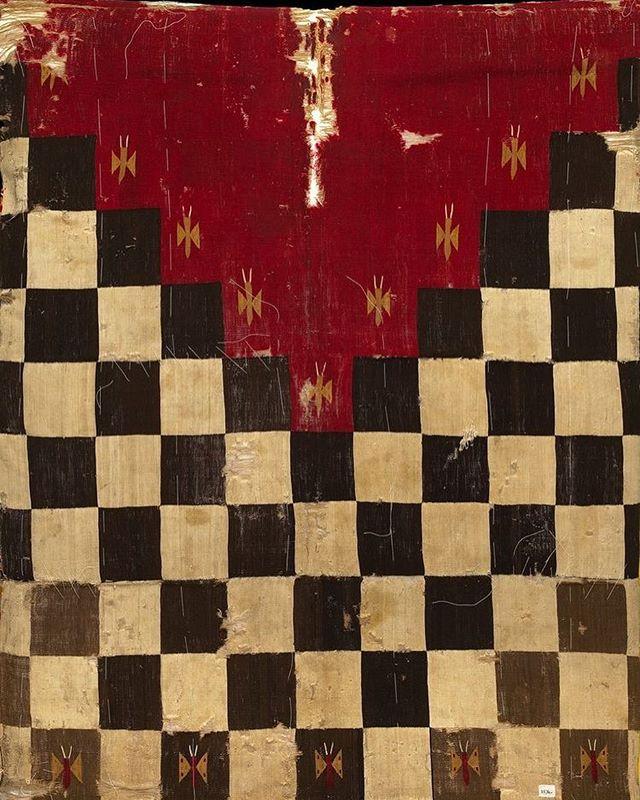 inca textile, circa 1400s.  via pinterest.