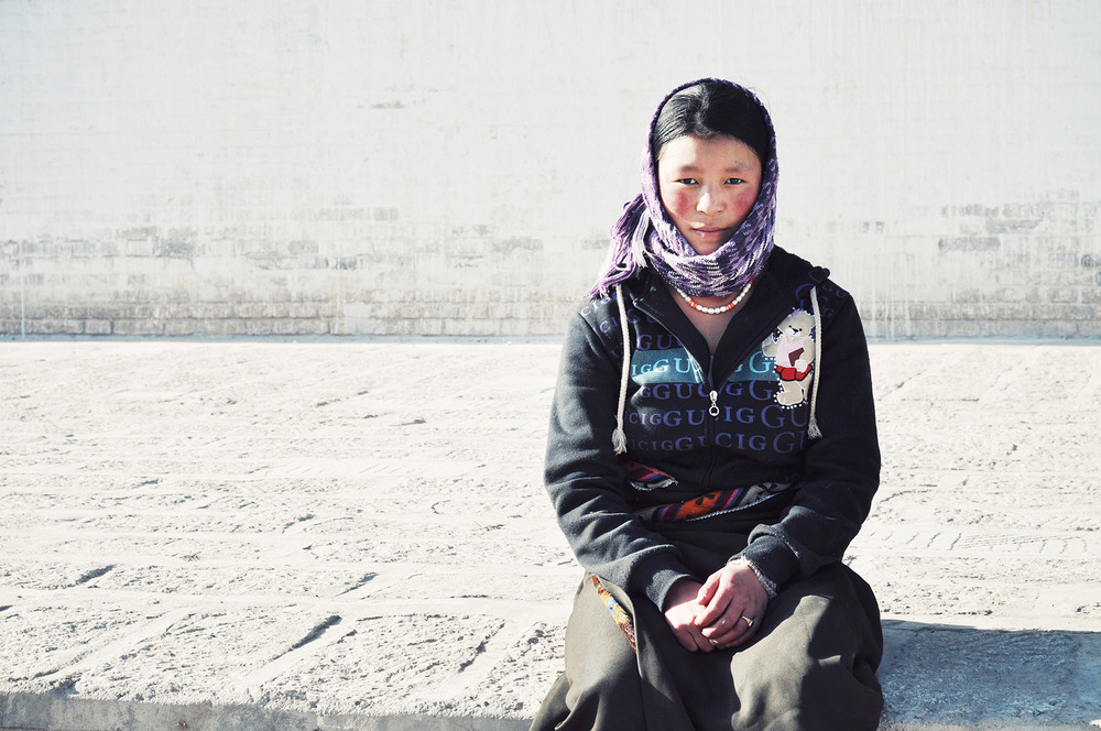Girl in Rebkong, Amdo