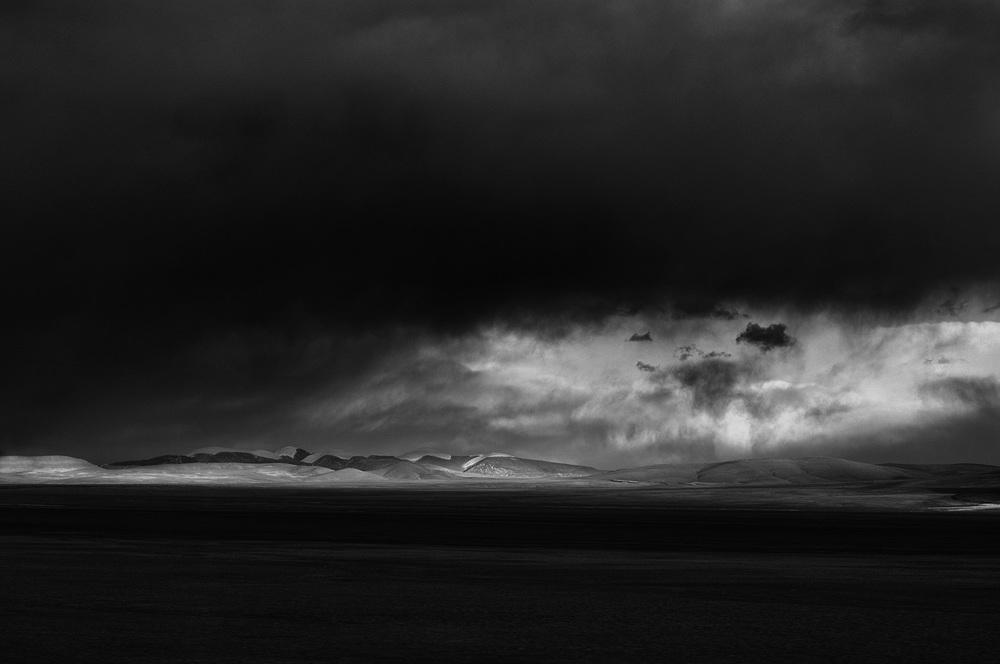 Moody Landscape, Tibet