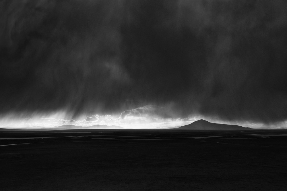 Stormy Landscape, Tibet