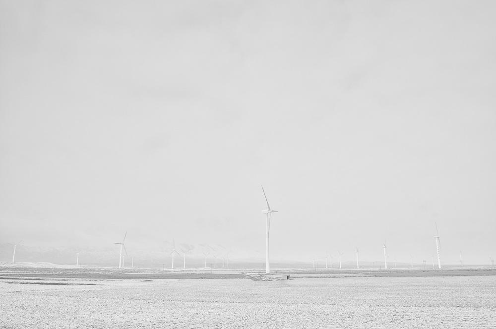 Wind Turbines, Tibet