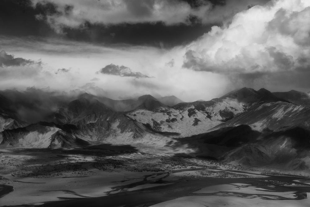 Sand Dunes, Tibet