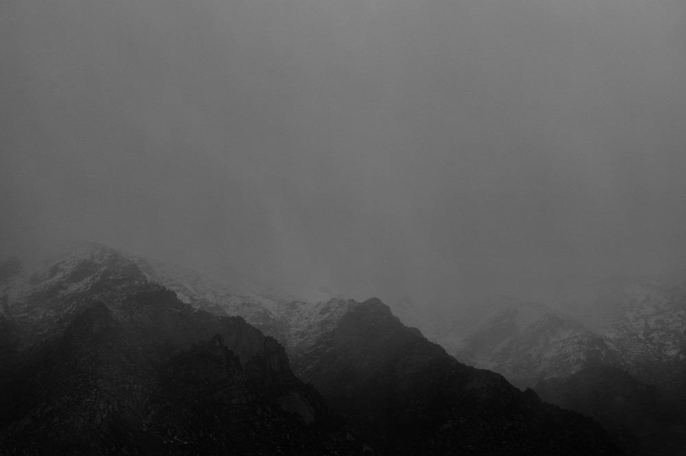 Mist, Tibet