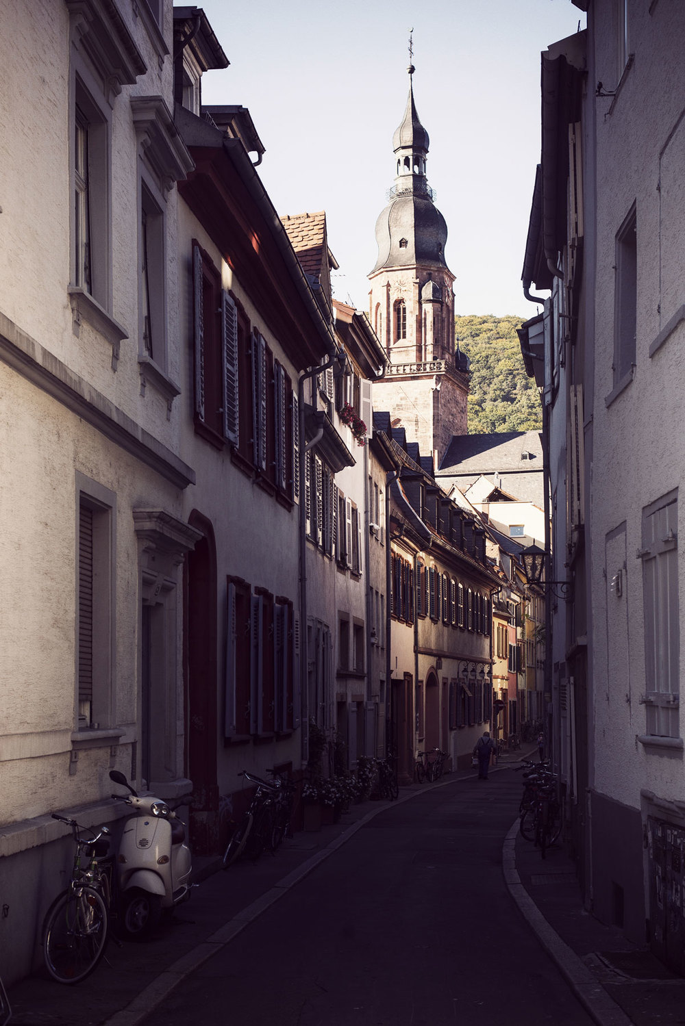 September: I moved (temporarily) to Heidelberg, Germany!