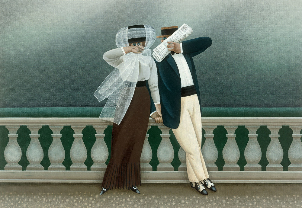 Der Ertappe Liebhaber (The Caught Lovers)