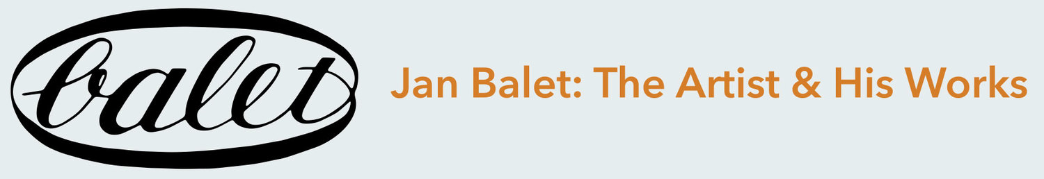 Jan Balet: The Artist & His Works