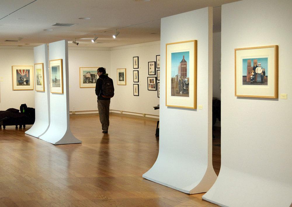Burke Gallery, SUNY Plattsburgh