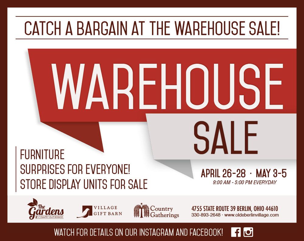 2018 Warehouse Sale.jpg