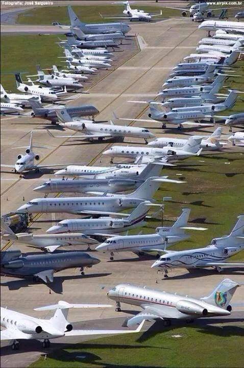 Heavy Traffic: This scene, from the 2014 World Cup in Brazil, is likely to be repeated during the 2016 Summer Olympics. Planning ahead now will help you make the best of it. Photo credit: Lider Aviation.