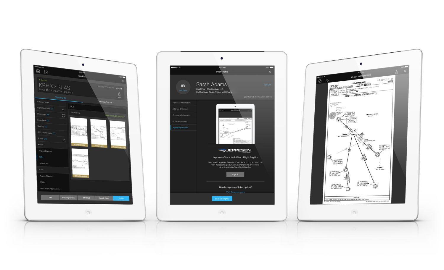 Jeppesen terminal charts now available on Honeywell GoDirect Flight