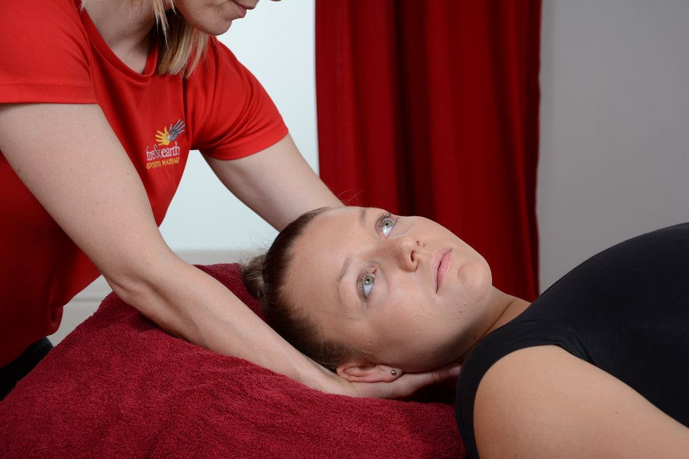 Relax tired, aching muscles with a deep tissue massage