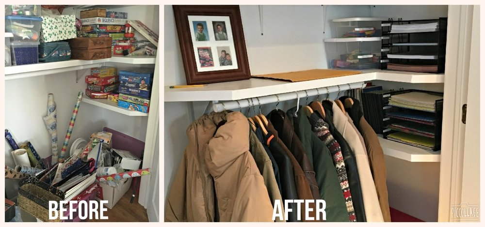 Closet and Storage organization