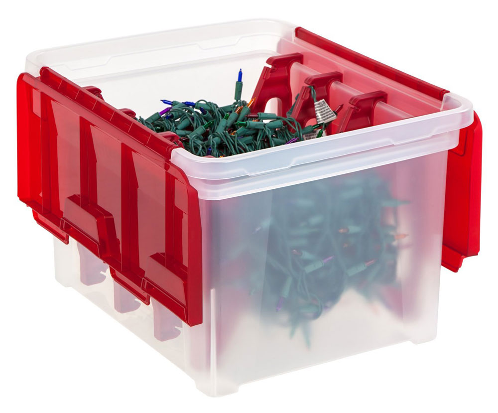 Christmas Light Storage from Organize-It