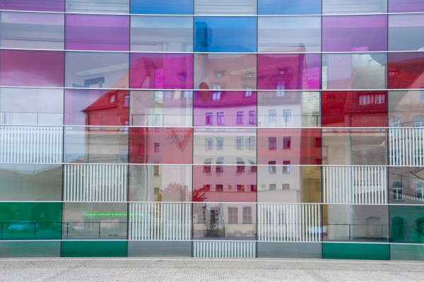 Daniel Burens Coloured Glass Windows