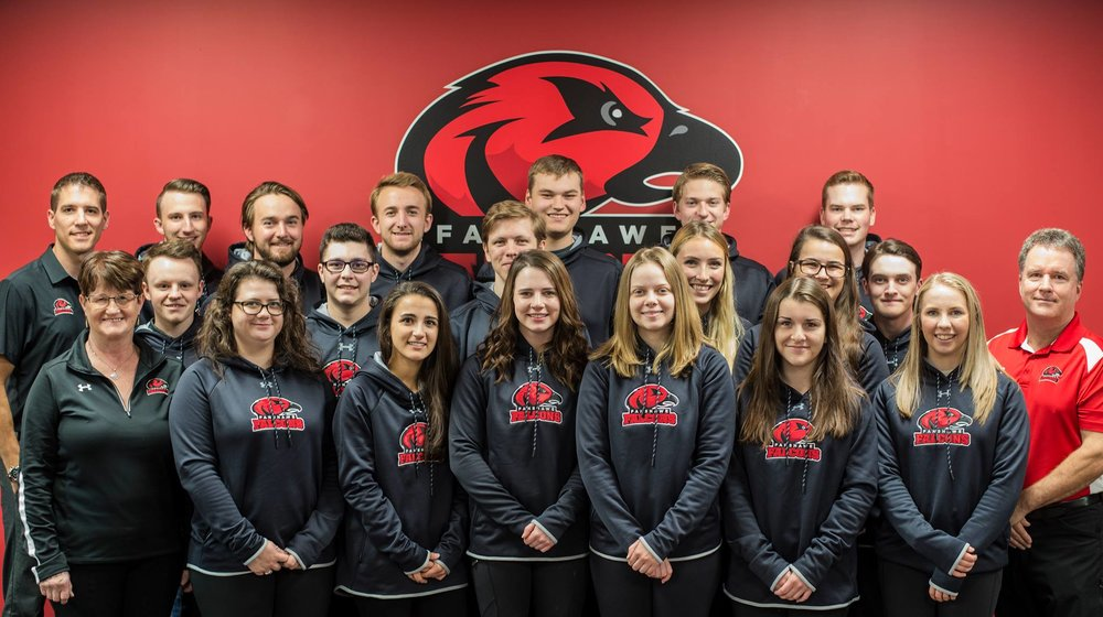 - Congratulations to Falcons Women's and Men's teams on their CCAA Nationals 2018 Gold & Silver Wins!