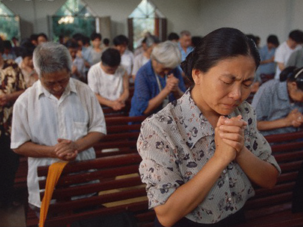 Chinese Christians in Worship