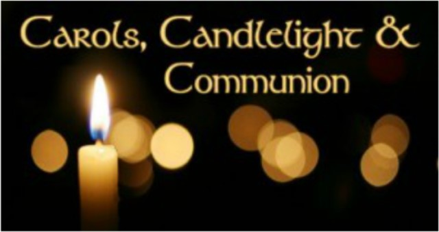 Sunday, December 24th, 9:00 pm - CHRISTMAS EVE CANDLELIGHTAND COMMUNION SERVICE