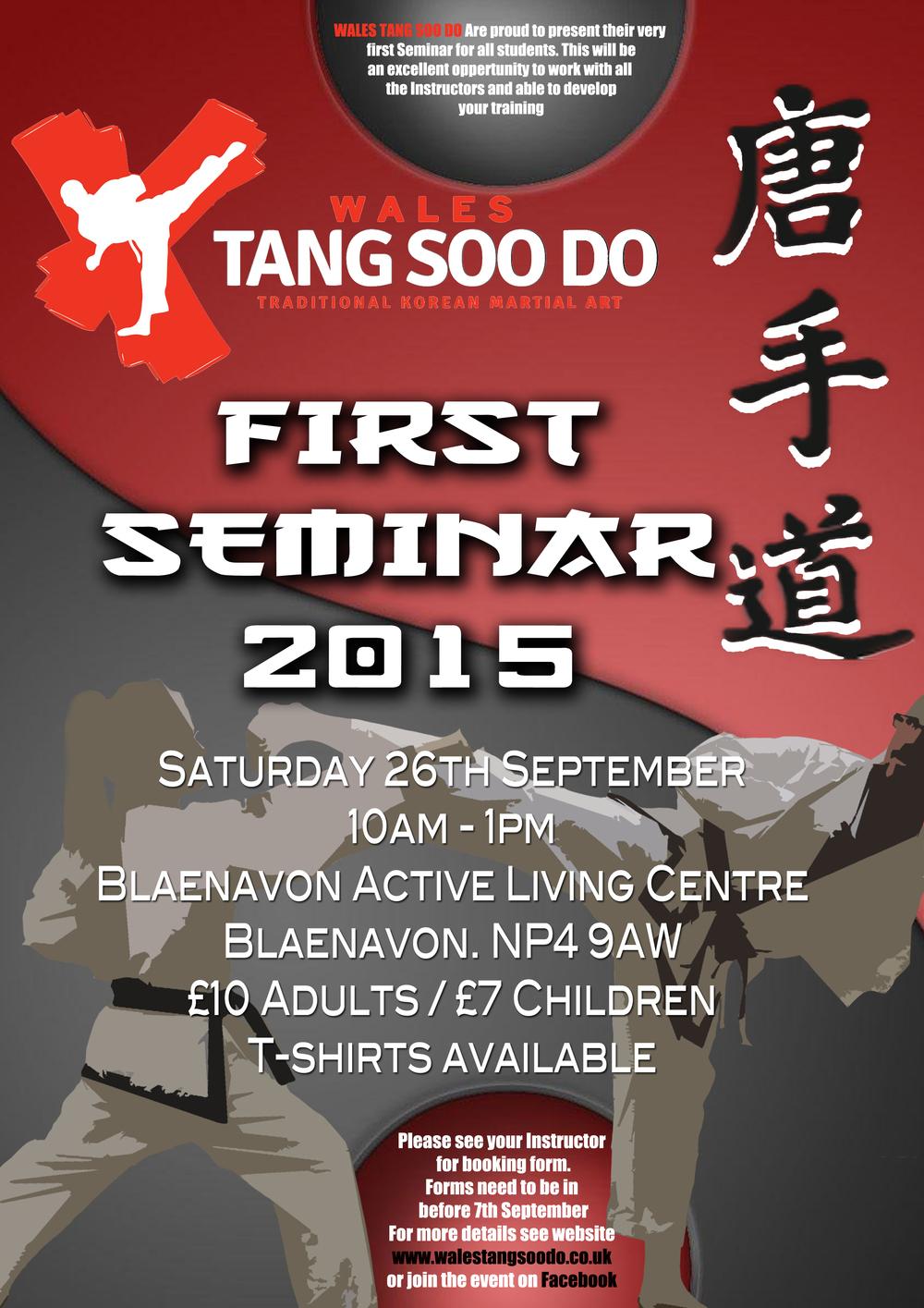 First Seminar