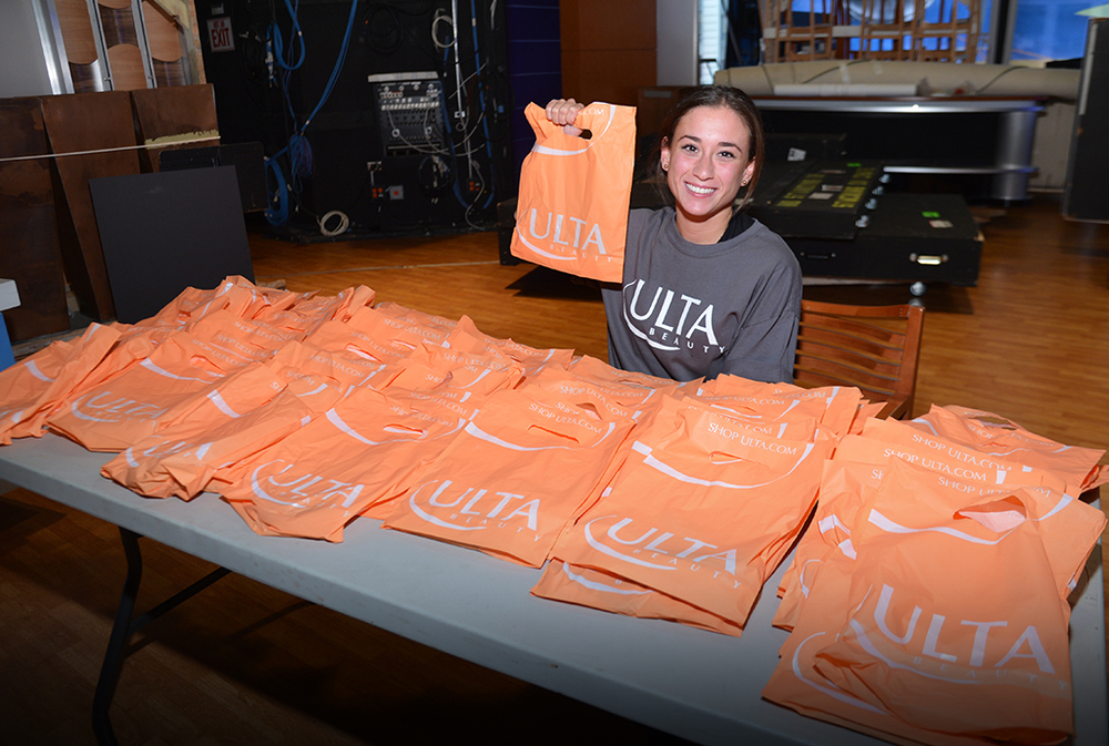 In addition to coordinating thousands of products for the actual makeovers, parting gifts and an in-store coupon were organized to thank the women who participated and to encourage their visit to a local ULTA store.