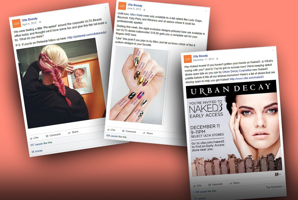 """Carrie decided to leverage ULTA's """"friendly beauty expert"""" as the new social tone and worked with her small team to create content. To accelerate the process, her team partnered with ULTA's vendors and partners, which already had vigorous content programs."""