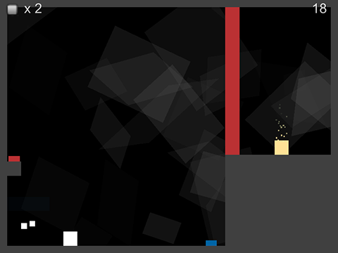Brax - by Zach Kohlberg and Ron BurgessBRAX is a minimalist puzzle platformer with a unique take on death. Players use their past lives, in the form of ghosts, to complete puzzles. Ghosts mimic the actions of the player's previous attempts at the level.